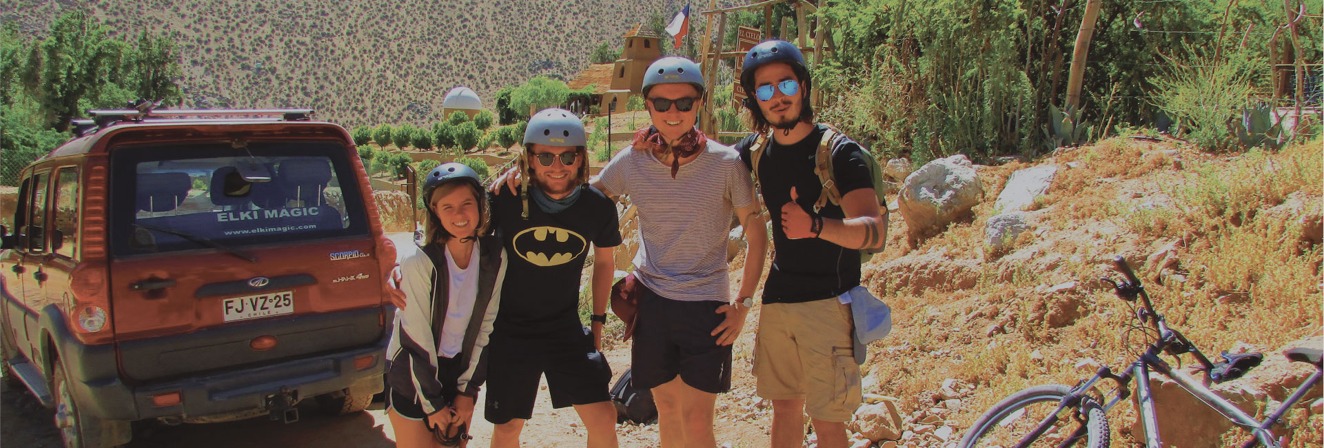 Discover the Elqui Valley in a fun and eco-friendly way